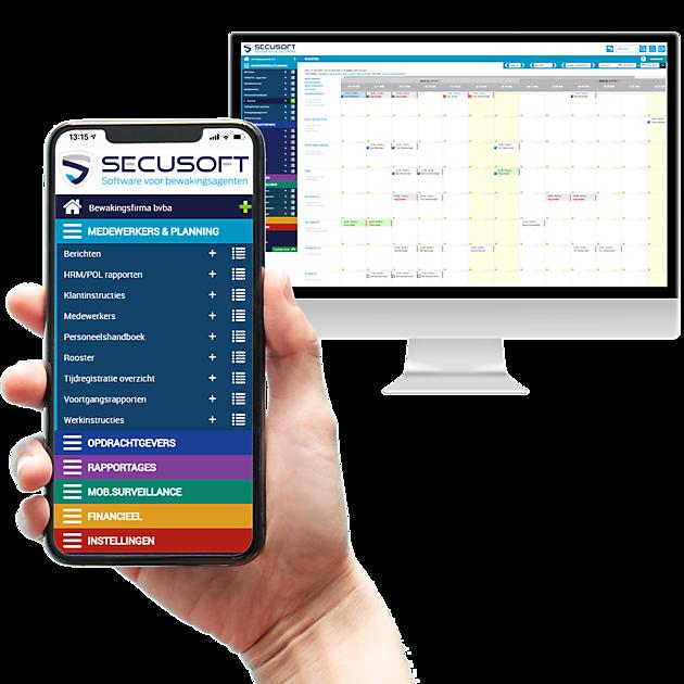 Complete planningssoftware en rapportagesoftware speciaal ontworpen voor bewakingsfirma_s - Secusoft BV Software voor bewakingsagenten